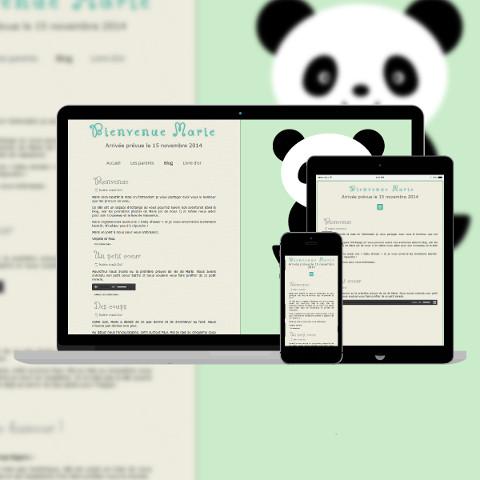 Site de naissance Panda